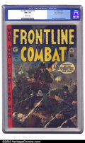 Golden Age (1938-1955):War, Frontline Combat #15 Gaines File pedigree 3/11 (EC, 1954) CGC NM+9.6 Off-white pages. This evocative cover by Wally Wood ma...