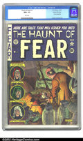 "Golden Age (1938-1955):Horror, The Haunt of Fear #11 Gaines File pedigree 2/12 (EC, 1952) CGC NM+9.6 White pages. Overstreet gives the ""Classic Ingels cov..."