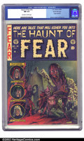 Golden Age (1938-1955):Horror, The Haunt of Fear #14 Gaines File pedigree 7/12 (EC, 1952) CGC NM9.4 Off-white to white pages. Graham Ingels owned this tit...