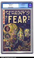 Golden Age (1938-1955):Horror, The Haunt of Fear #17 Gaines File pedigree 7/12 (EC, 1953) CGC NM+9.6 Off-white to white pages. Graham Ingels earns another...