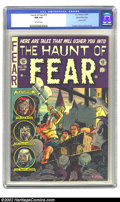 Golden Age (1938-1955):Horror, The Haunt of Fear #19 Gaines File pedigree 7/12 (EC, 1953) CGC NM9.4 Off-white pages. Not one decapitation, but two are abo...