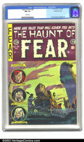 """Golden Age (1938-1955):Horror, The Haunt of Fear #28 Gaines File pedigree 1/12 (EC, 1954) CGC NM9.4 White pages. Overstreet gives a """"low distribution"""" war..."""