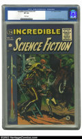 Golden Age (1938-1955):Science Fiction, Incredible Science Fiction #31 (EC, 1955) CGC VF 8.0 White pages.Here's a book that is usually extremely difficult to find ...
