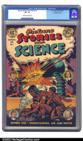 Golden Age (1938-1955):Non-Fiction, Picture Stories from Science #1 Gaines File pedigree 4/11 (EC,1947) CGC VF- 7.5 Off-white to white pages. Generally as nice...