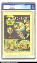"Silver Age (1956-1969):Miscellaneous, Reddy Kilowatt #2 (EC, 1947) CGC NM+ 9.6 Cream to off-white pages.This giveaway, entitled ""Wizard of Light,"" was the second..."