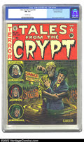 Golden Age (1938-1955):Horror, Tales From the Crypt #24 Gaines File pedigree 7/12 (EC, 1951) CGCNM 9.4 Off-white pages. EC is well known for their great h...