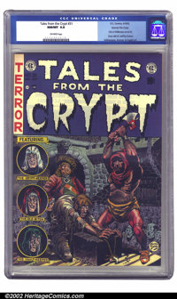 Tales From the Crypt #31 Gaines File pedigree 3/12 (EC, 1952) CGC NM/MT 9.8 Off-white pages. This important issue has Al...