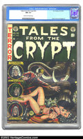 Golden Age (1938-1955):Science Fiction, Tales From the Crypt #32 (EC, 1952) CGC NM 9.4 Cream to off-whitepages. Jack Davis shows off his versatility with this amaz...