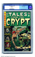 Golden Age (1938-1955):Horror, Tales From the Crypt #40 Gaines File pedigree 7/12 (EC, 1954) CGCNM- 9.2 Off-white pages. Jack Davis created what many cons...
