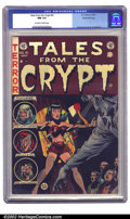 Golden Age (1938-1955):Horror, Tales From the Crypt #41 Gaines File pedigree 3/12 (EC, 1954) CGCNM 9.4 Off-white to white pages. A wonderfully suspenseful...