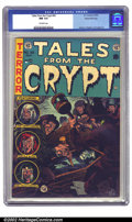 Golden Age (1938-1955):Horror, Tales From the Crypt #42 Gaines File pedigree Certificate Missing(EC, 1954) CGC NM 9.4 Off-white pages. A tense Jack Davis ...