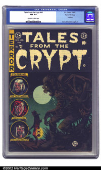 Tales From the Crypt #46 Gaines File pedigree 3/11 (EC, 1955) CGC NM 9.4 Off-white to white pages. A kind of melancholy...