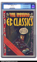 Golden Age (1938-1955):Horror, Three Dimensional EC Classics #1 (EC, 1954) CGC VF+ 8.5 Cream tooff-white pages. A cool Kurtzman cover fronts this interest...