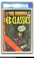 Golden Age (1938-1955):Horror, Three Dimensional EC Classics #1 (EC, 1954) CGC VF- 7.5 Cream tooff-white pages. If you can't afford the higher-grade copy ...