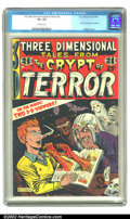 Golden Age (1938-1955):Horror, Three Dimensional Tales from the Crypt of Terror #2 (EC, 1954) CGCVF+ 8.5 Off-white pages. Seemed like such a great idea, t...