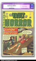 Golden Age (1938-1955):Horror, Vault of Horror #12 (EC, 1950) CGC Apparent GD/VG 3.0 Slight (A)White pages. It's only appropriate that Johnny Craig is the...