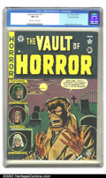 Golden Age (1938-1955):Horror, Vault of Horror #17 Gaines File pedigree 8/11 (EC, 1951) CGC NM 9.4Off-white to white pages. Johnny Craig on the cover, and...