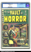 Golden Age (1938-1955):Horror, Vault of Horror #18 (EC, 1951) CGC NM 9.4 Off-white to white pages.He must have wished with a wooden nickel or a tiddly-win...