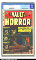 Golden Age (1938-1955):Horror, Vault of Horror #31 Gaines File pedigree Certificate Missing (EC,1953) CGC NM 9.4 Off-white to white pages. Johnny Craig co...