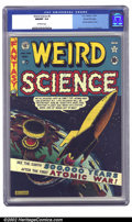 Golden Age (1938-1955):Science Fiction, Weird Science #5 Gaines File pedigree 4/10 (EC, 1951) CGC NM/MT 9.8Off-white pages. This fantastic Feldstein atomic explosi...