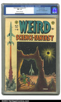 Golden Age (1938-1955):Science Fiction, Weird Science-Fantasy #24 Gaines File pedigree 3/12 (EC, 1954) CGC NM+ 9.6 Off-white to white pages. Feldstein provides his ...