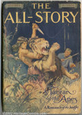 Pulps:Anthology, All Story Oct 1912, First Appearance of Tarzan (Munsey, 1912).Ninety years ago, a cheaply-printed publication appeared unhe...