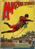Pulps:Science Fiction, Amazing Stories Vol. 3, #5 (Ziff-Davis, 1928) VG+. The firstappearance of Buck Rogers has to be considered one of the ultim...