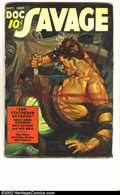 Pulps:Hero, Doc Savage Group Lot (Street & Smith, 1930s). Doc Savage, the Man of Bronze, comes to the rescue in these great adventure st... (Total: 3 pieces Item)