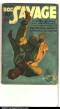 Pulps:Hero, Doc Savage Group Lot (Street & Smith, 1930s). Lovers of pulp fiction will love this trio of 1930s Doc Savage book with d... (Total: 3 Comic Books Item)
