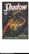Pulps:Hero, Shadow Group Lot, Rockford Pedigree (Street & Smith, 1942). The Shadow is featured prominently on seven out of the eight pul... (Total: 8 Comic Books Item)