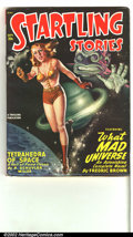 Pulps:Science Fiction, Startling Stories lot Yakima pedigree (Standard, 1948-1951) Condition: VF. Both of these issues are in tremendous condition,... (Total: 2 Co Comic Books Item)