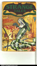 Pulps:Horror, Strange Tales lot of 5 issues (Clayton, 1931). Offered here is anextremely rare opportunity to acquire five issues of this ...(Total: 5 Comic Books Item)