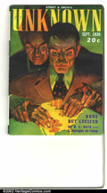 Pulps:Horror, Unknown lot Yakima pedigree (Street & Smith, 1939) Condition: VF/NM. The September 1939 issue features a fantastic painted c... (Total: 2 Co Comic Books Item)