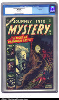 Golden Age (1938-1955):Horror, Journey into Mystery #12 River City pedigree (Marvel, 1953) CGC VF+8.5 Off-white pages. Flat, clean, and glossy, with excel...