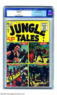 Jungle Tales #5 Mile High pedigree (Atlas, 1955) CGC NM 9.4 White pages. Atlas jungle comics from the mid-1950s are not...