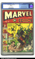 Golden Age (1938-1955):Superhero, Marvel Mystery Comics #10 (Timely, 1940) CGC VF 8.0 Cream to off-white pages. This richly-colored issue features the conclus...