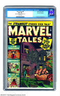 Golden Age (1938-1955):Horror, Marvel Tales #98 Palo Alto pedigree (Atlas, 1950) CGC VF+ 8.5Off-white pages. This sixth issue after its renowned predecess...