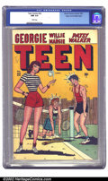 Golden Age (1938-1955):Humor, Teen Comics #22 Mile High pedigree (Marvel, 1947) CGC NM 9.4 White pages. This cute Marvel features the full lineup of their...