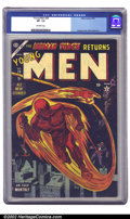 Golden Age (1938-1955):Superhero, Young Men #26 (Atlas, 1954) CGC VF- 7.5 Off-white pages. This is a respectable copy of a very desirable issue. Hardly any su...