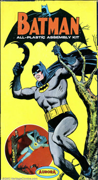 Batman, Robin and Dick Tracy Model Kits (Aurora, 1964, 1966, 1968). Most guys who grew up in the 1950s and 1960s share a...