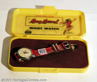 Mary Marvel Wrist Watch (Fawcett, 1948). This Mary Marvel Wrist Watch is mint/unused in a full color, plastic box. Like...