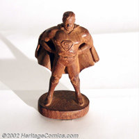 Unique Superman Syroco Prototype Statue (DC, 1942). Adolph Holstein, a skilled European immigrant woodcarver, founded th...