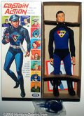 "Memorabilia:Superhero, Captain Action: First Issue Box (Ideal, 1966). Spurred by the unprecedented success of Hasbro's G.I. Joe line of 12"" action ..."
