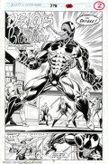 Original Comic Art:Splash Pages, Mark Bagley and Randy Emberlin - Amazing Spider-Man #378, SplashPage (Marvel, 1993). From Maximum Carnage, Chapter 3 of the...