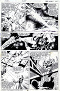 Original Comic Art:Panel Pages, John Byrne and Terry Austin - Original Art for X-Men #130, page 26(Marvel, 1979). More than anything else, John Byrne's rep...