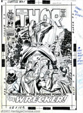 Original Comic Art:Covers, Jack Kirby and Vince Colletta - Original Cover Art for Thor #148(Marvel, 1968). It's covers like this that made Jack Kirby ...