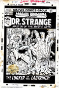 Original Comic Art:Covers, Mike Ploog - Original Cover Art for Marvel Premiere #5 (Marvel,1972). The first of three consecutive Doctor Strange covers ...