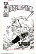 Original Comic Art:Covers, Jim Starlin - Original Cover Art for Dreadstar #18 (Marvel, 1985).This cover to the April, 1985 issue of Dreadstar is a...