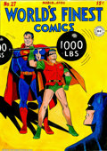 Original Comic Art:Covers, Mike Esposito and Stan Goldberg - Original Cover Recreation forWorld's Finest #27 (undated). A classic cover, re-rendered i...