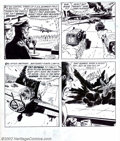 """Original Comic Art:Complete Story, Russ Heath - Original Art for Star Spangled War Stories #97,Complete 8-page Story, """"The End of Lady Luck"""" (DC, 1961). This ..."""